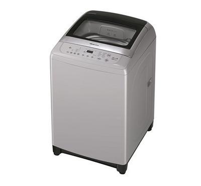 Daewoo Top Load Fully Automatic Washing Machine, 12 kg, 10 Program, Gray