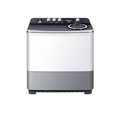 Candy Washing Machine, Twin Tub, 20 KG, Plastic Body, White