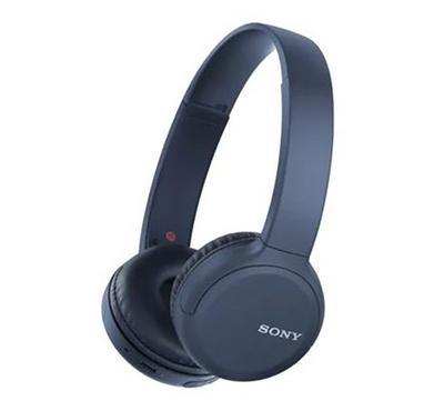 Sony Wireless On-Ear Headphones, Blue
