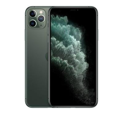 Apple iPhone 11 Pro Max, 256GB, Midnight Green