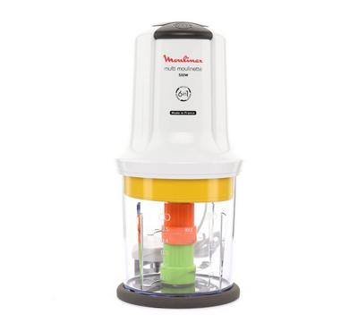 Moulinex Multi Moulinette Chopper Extra Chop 6in1. 500W, 500ml,White