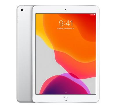 Apple iPad 7th Generation, 10.2 Inch, 128GB, Wi-Fi + Cellular, Silver