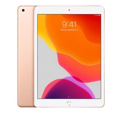 Apple iPad 7th Generation, 10.2 Inch, 128GB, Wi-Fi + Cellular, Gold