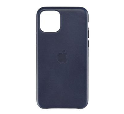 Apple iPhone 11 Pro Leather Case, Midnight Blue