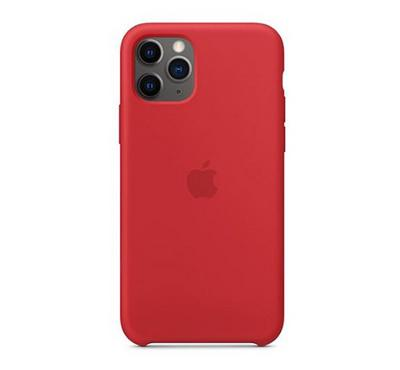 Apple iPhone 11 Pro Silicone Case, (PRODUCT)RED