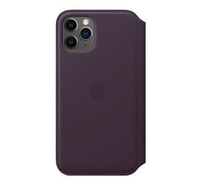 Apple iPhone 11 Pro Max Leather Folio, Black