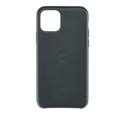 Apple iPhone 11 Pro Max Leather Case, Forest Green
