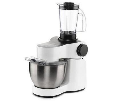 Moulinex Kitchen Machine 4L, 1000W, 4 Speed,White Grey