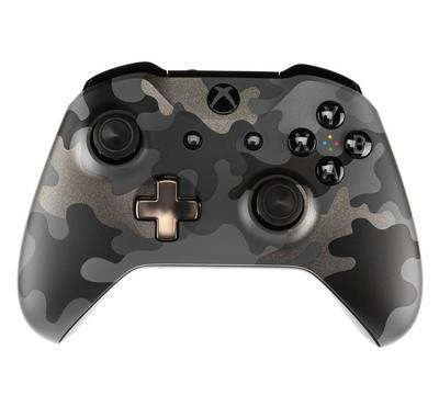 Xbox One Branded Wireless Controller, Night Ops Camo SE