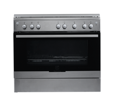Electrolux Gas Cooker 90X60, Stainless Steel