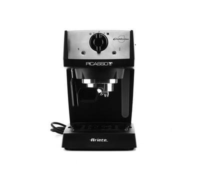 Ariete Ccoffee Machine, 850W, Cup Holder, Black
