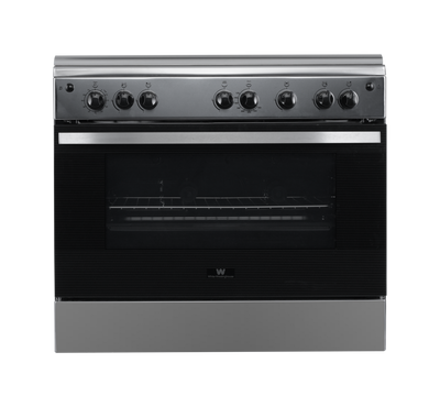 White Westinghouse Gas Cooker, 90X60, Stainless Steel Finish