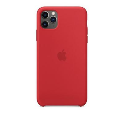 Apple iPhone 11 Pro Max Silicone Case Product Red