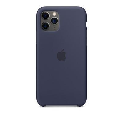 Apple iPhone 11 Pro Silicone Case Midnight Blue