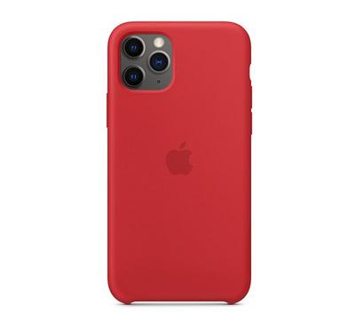 Apple iPhone 11 Pro Silicone Case Product Red