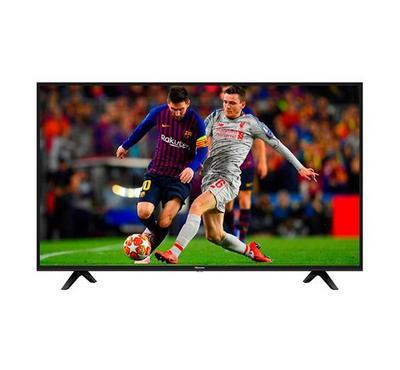 Hisense 43 inch Smart LED TV UHD 4K, Quad Core, Black