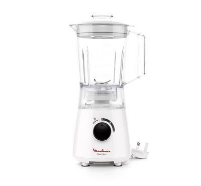 Moulinex Blender Blendeo, 1.5L, 400W, Plastic Jar,White