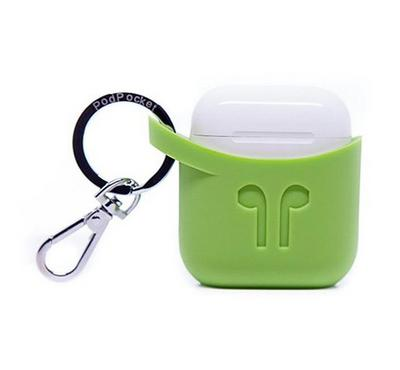 Podpocket, Silicone Case For Apple Airpods, Green