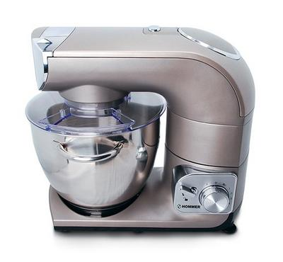 Hommer Kitchen Machine, 1200W, 5.5L Stainless steel bowl.