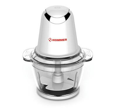 Hommer Chopper 500W, 1L capacity, Stainless steel