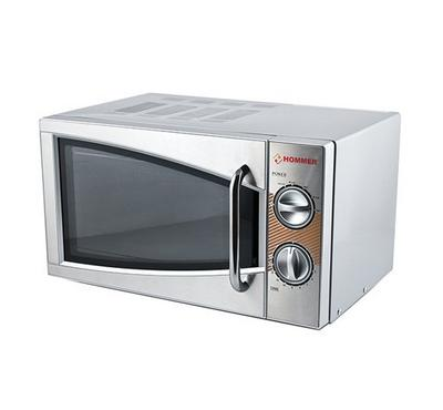 Hommer 17L Microwave Solo, 700W, Silver