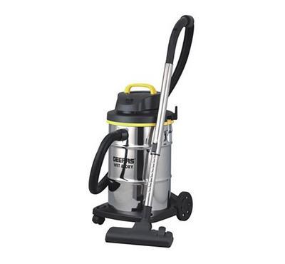 Geepas 23.0L Drum Vacuum Cleaner Wet&Dry 2400W Black/Silver