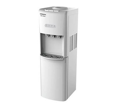 Hitachi Water Dispenser Floor Standing With Cabinet White
