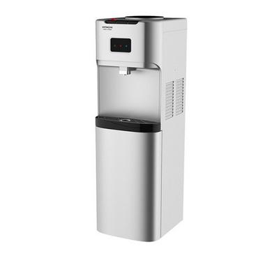 Hitachi Water Dispenser Floor Standing With Cabinet Silver