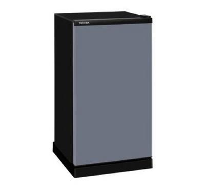Toshiba 189.0L Single Door Fridge Frost Silver Crystal