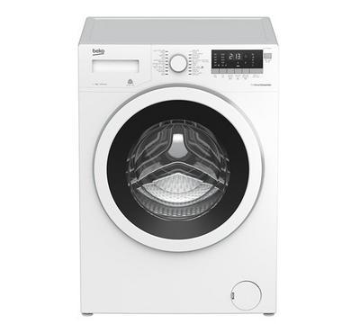 Beko Front Load Washer ,7kg, LED Display, 1000 RPM, 16 Program,White