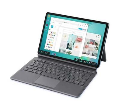 Samsung Galaxy Tab S6, 10.5 Inch Book Cover Keyboard, Gray