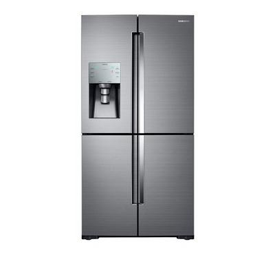 Samsung FDR Refrigerator,24.6 Cu.ft, Triple Cooling, Multi Flow, No Frost, Auto Ice Make, Silver