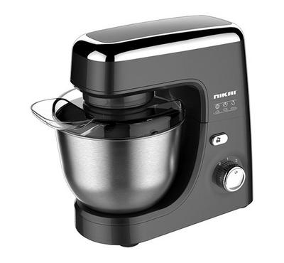 Nikai 4.2L Kitchen Machine Stand Mixer 600W, Whisk, Black