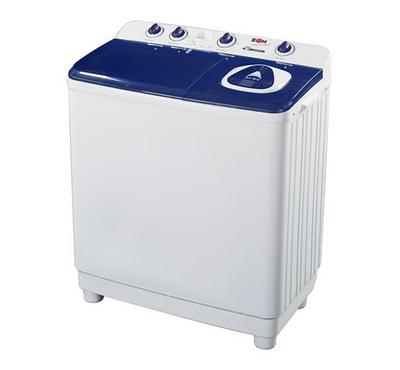 Zen Washing Machine, 10 kg Twin Tub, Plastic Body, White