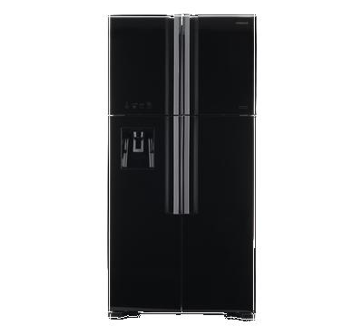 هيتاشي ثلاجة، أربع ابواب، 19.1 قدم، أسود