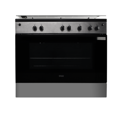 Gibson Freestanding Gas Cooker 90X60, Oven with Gas Grill, Full Safety