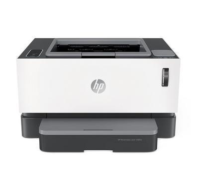 HP Neverstop Laser 1000w Printer, Wi-fi, White