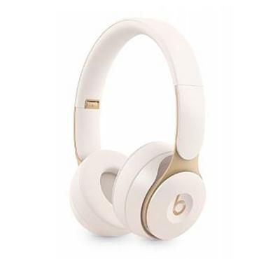 Beats Solo Pro Wireless Noise Cancelling Headphones , Ivory