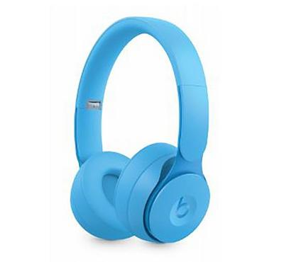 Beats Solo Pro Wireless Noise Cancelling Headphones , More Matte Collection , Light Blue