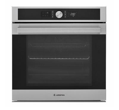 Ariston Built in Electric Oven 60cms, Multifunction 9, Multiflow Technology, Inox