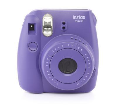 Instax Camera Mini 8, Film 10pk--Fujifilm, Grape