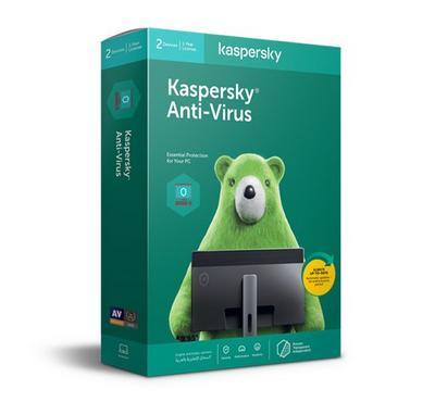كاسبرسكي مضاد للفيروسات و حماية الإنترنت 2020 ، 2 مستخدمين