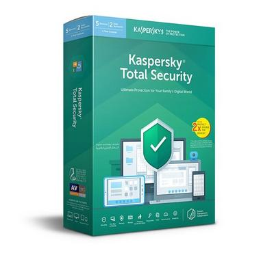 Kaspersky Total Security 5 User Retail