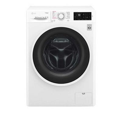 LG Washer 7kg, Dryer 4kg, Steam Inverter, Front Load, 1000rpm, White