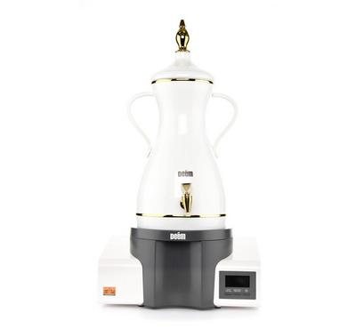 Deem Guests Dalla, Arabic Coffee Maker. 7L, 6hrs Keep Warm Function.White /Grey