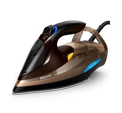 Philips Steam Iron, Azur Advanced, 3000W, Golden Cava/Black