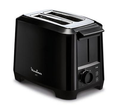 Moulinex UNO Toaster 2 Slots 800W Black.