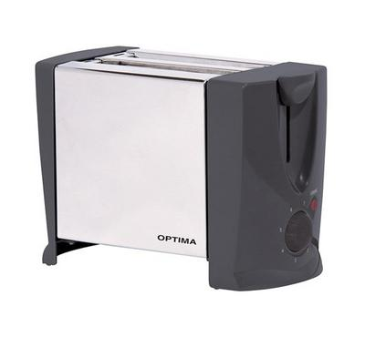 Optima 2s Slice Toaster Stainless 750W Bundled Offer