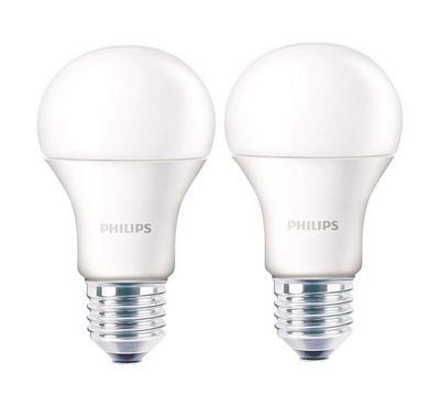 Philips Essential 2PC LED Bulb 12W White