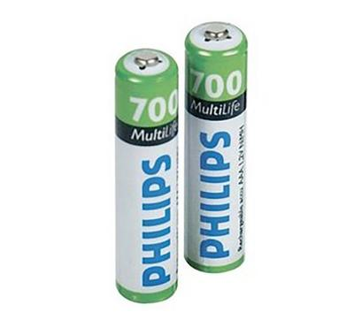 Philips AAA Batteries 20-Pack White